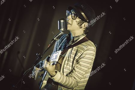 Editorial photo of Micah P. Hinson in concert, Rome, Italy  - 25 May 2015