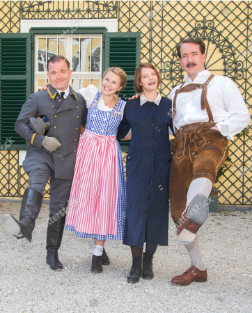 Editorial photo of 'The Trapp Family' film photocall, Kogl Castle, Austria - 27 Apr 2015