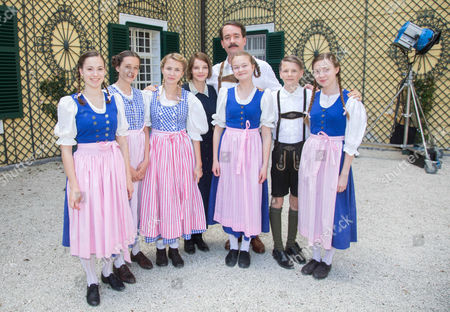 Editorial image of 'The Trapp Family' film photocall, Kogl Castle, Austria - 27 Apr 2015