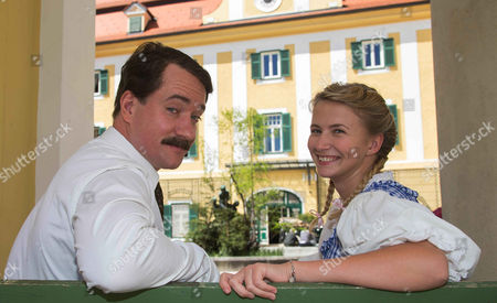 Editorial photo of 'The Trapp Family' film photocall, Kogl Castle, Austria - 27 Apr 2015