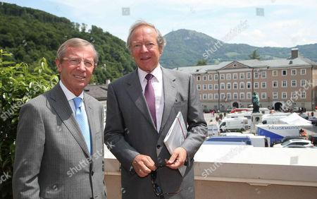 Wilfried Haslauer and Herbert Kloiber