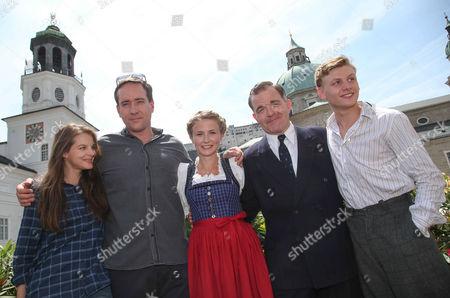 Yvonne Catterfeld, Matthew Macfadyen, Eliza Bennett, Cornelius Obonya and Johannes Nussbaum