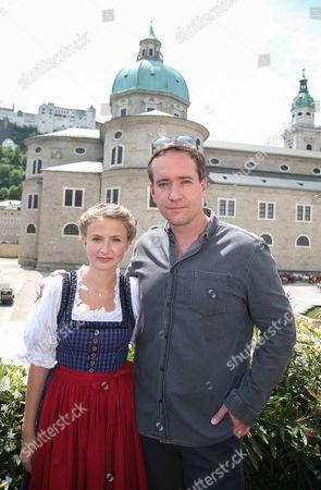 Editorial image of 'The Trapp Family' film set, Salzburg, Austria - 01 Jun 2015