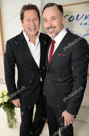 Arpad Busson and David Furnish