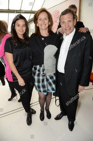 Tiffany, Anita and Poju Zabludowicz