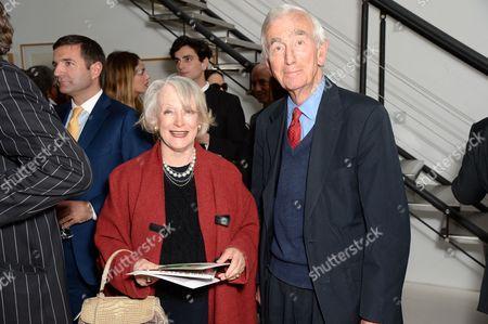 Lucia van der Post and Neil Crichton-Miller