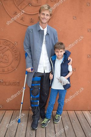 Arnaud Lemaire and son