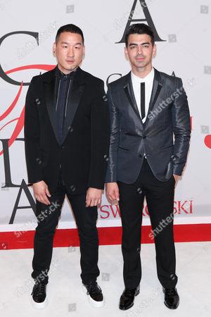 Richard Chai and Joe Jonas
