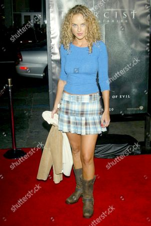 Editorial photo of 'EXORCIST : THE BEGINNING' FILM PREMIERE LOS ANGELES, CALIFORNIA, AMERICA - 18 AUG 2004