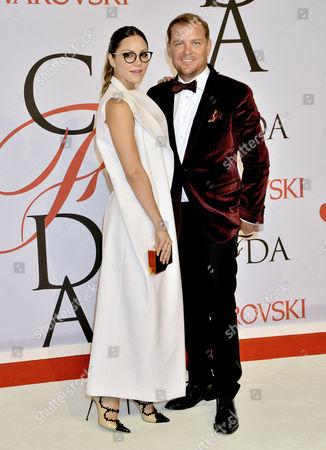 Editorial photo of CFDA Fashion Awards, New York, America - 01 Jun 2015