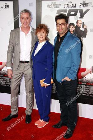 Susan Sarandon, Michael McDonald, and Adam Ray