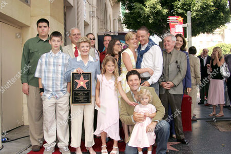 Patty Duke with her family. (inc Sean Astin and daughter Elizabeth )