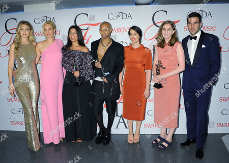 Editorial picture of CFDA Fashion Awards, New York, America - 01 Jun 2015