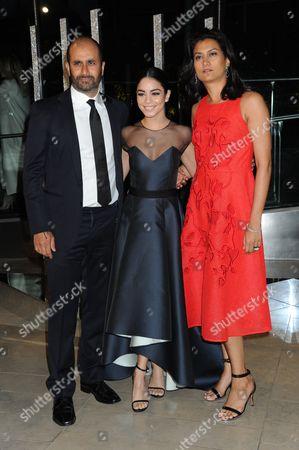 Stock Photo of Sachin Ahluwalia, Vanessa Hudgens and Babi Ahluwalia