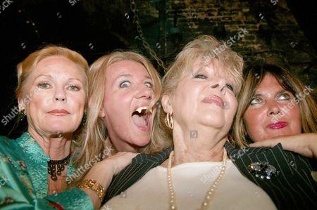 Stock Image of Veronica Carlson, Steffanie Pitt, Ingrid Pitt and Caroline Munro