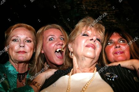 Stock Picture of Veronica Carlson, Steffanie Pitt, Ingrid Pitt and Caroline Munro