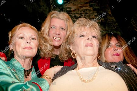 Editorial photo of 'THREE FOR HELL' FILM LAUNCH AT THE LONDON DUNGEON, BRITAIN - 19 AUG 2004