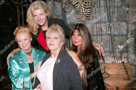 Veronica Carlson, Steffanie Pitt, Ingrid Pitt and Caroline Munro