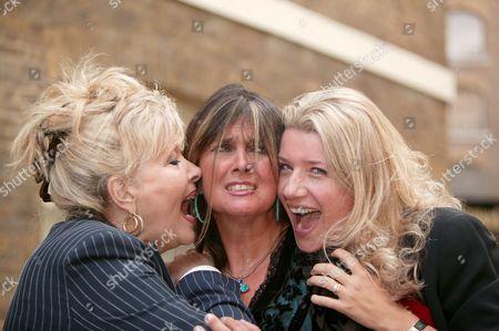 Stock Photo of Ingrid Pitt, Caroline Munro and Steffanie Pitt.