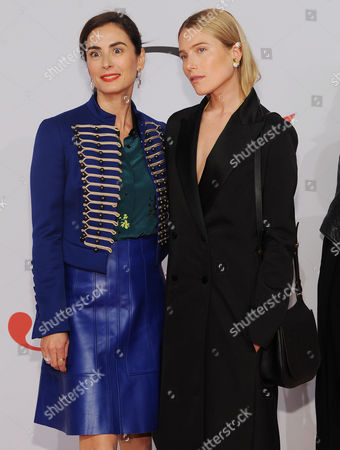 Francesca Amfitheatrof and Dree Hemingway