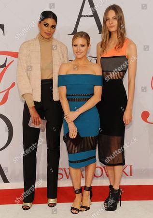 Rachel Roy, Brittany Snow and Tilda Lindstam