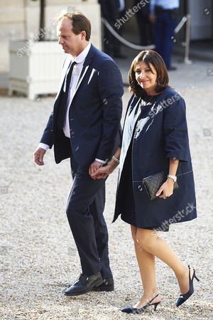 Editorial photo of King Felipe VI and Queen Letizia visit to Paris, France - 02 Jun 2015