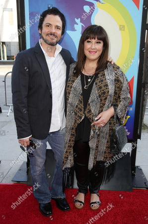 Stock Picture of Rob Bonfiglio and Carnie Wilson
