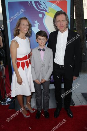 Bill Pohlad, wife Michelle and son Oliver