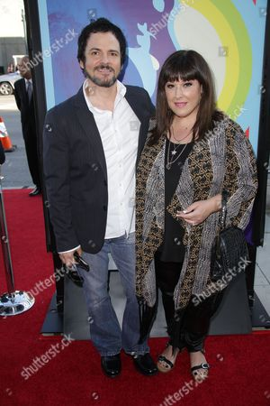 Stock Photo of Rob Bonfiglio and Carnie Wilson