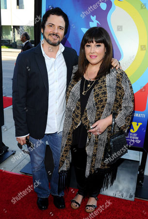 Stock Image of Rob Bonfiglio and Carnie Wilson