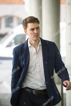 Euan Blair, son of former British prime minister Tony Blair, arriving at Progress Annual Conference held at TUC Congress House in London to discuss the labour leadership race following a heavy defeat in the recent general election