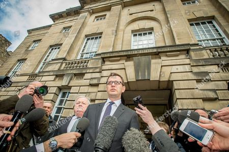 Andy Coulson makes a statement