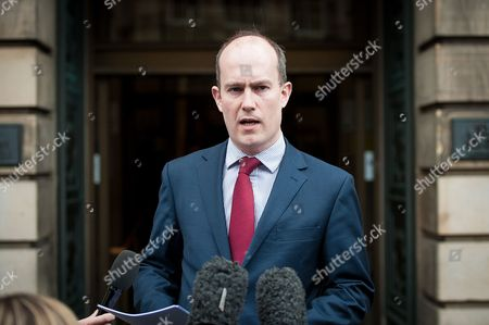 Andy Coulson's lawyer Stuart Munro makes a statement