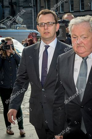 Andy Coulson arrives on the final day of the trial