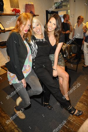 Editorial photo of Leo Joseph Summer Store Launch Party, London, Britain - 03 Jun 2015