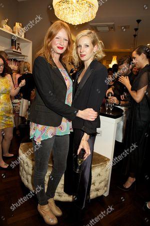 Olivia Inge and Savannah Miller