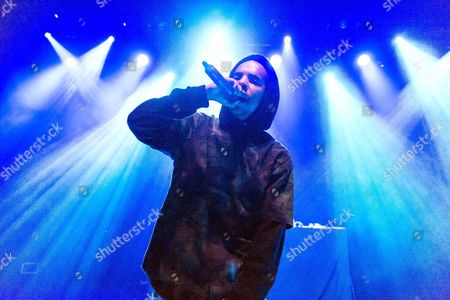 Editorial photo of Earl Sweatshirt in concert at Shepherd's Bush Empire, London, Britain - 03 Jun 2015