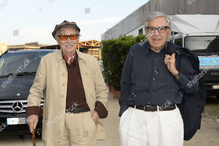 Stock Picture of Paolo and Vittorio Taviani