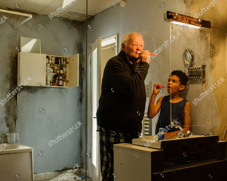 Dudley Sutton and Mitchell Jelley