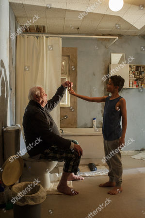 Stock Image of Dudley Sutton and Mitchell Jelley