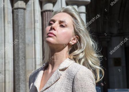 Editorial photo of Ekaterina Parfenova divorce case, London, Britain - 04 Jun 2015