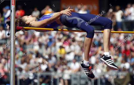 Isobel POOLEY (GBR) during the Women's High Jump