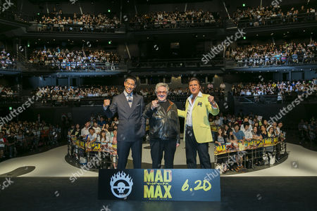 Editorial image of 'Mad Max: Fury Road' film premiere, Tokyo, Japan - 04 Jun 2015