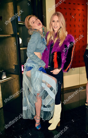 Anabel Englund and Mary Charteris