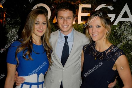 Hannah Bagshawe, Eddie Redmayne and Clemency Burton-Hill