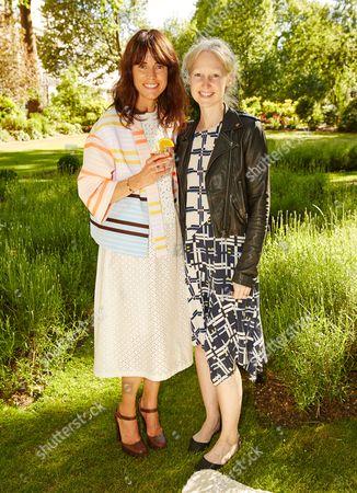Stock Photo of Anna Foster and Miranda Almond attend the Suno Summer Picnic in Eaton Square on Thursday 4th June