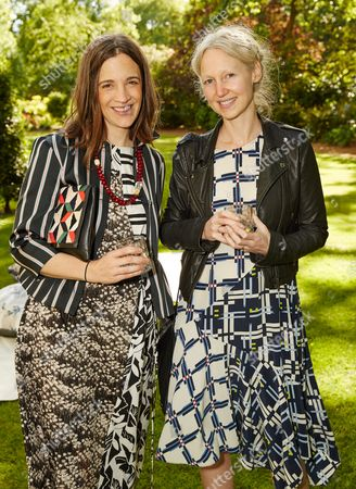 Stock Image of Erin Beatty and Miranda Almond attend the Suno Summer Picnic in Eaton Square on Thursday 4th June