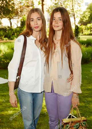 Stock Picture of Anouska Beckwith and Flo Morrissey attend the Suno Summer Picnic in Eaton Square on Thursday 4th June