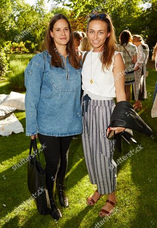 Stock Photo of Julia Brenard and Robyn Kotze attend the Suno Summer Picnic in Eaton Square on Thursday 4th June