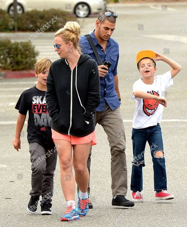 Britney Spears, Jayden James Federline, Sean Federline